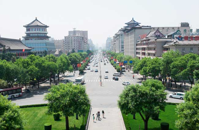 Xi'an is the largest and capital city of the Shaanxi Province in North-western China.
